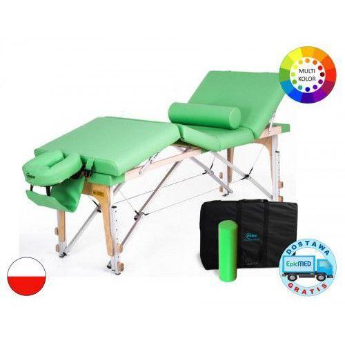 Składany stół do masażu Manual ALU z regulacją wysokości Manual Alu