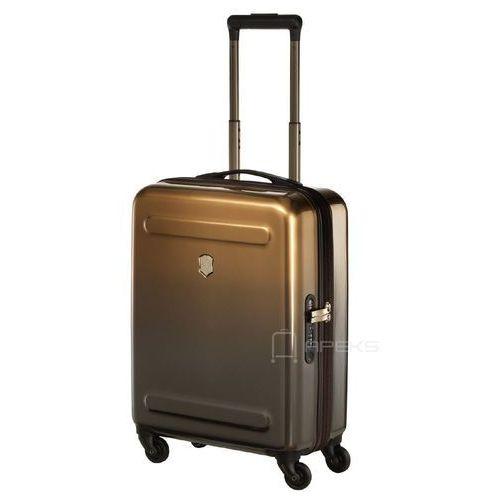 etherius gradient mała poszerzana walizka kabinowa 23/55 cm / brązowa - bronze marki Victorinox