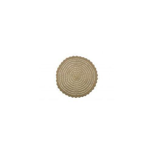 okrągły dywan corn z juty 800611-n marki Be pure