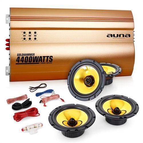"Elektronik-star Auna 4.0 samochodowy zestaw hifi ""golden race v4"" (4260365787947)"