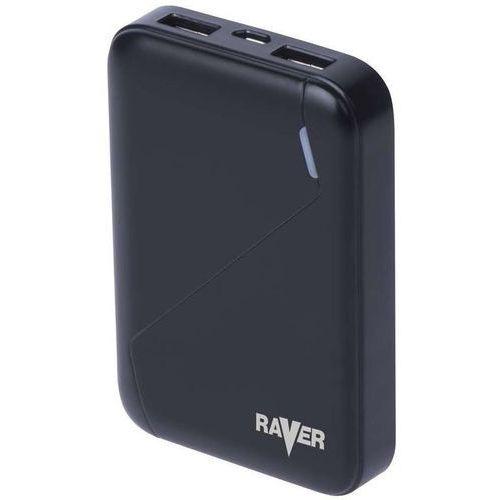 Powerbank raver 6600mah czarny marki Emos