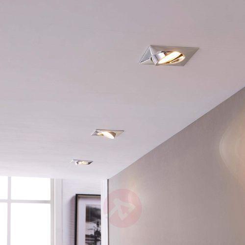Lampa wpuszczana w sufit Andrej z LED, 3-cz. zest. (4251096520309)