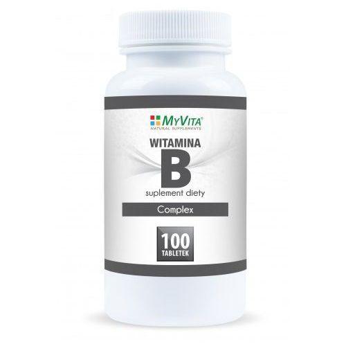 Witamina B-Complex MyVita 100 tabletek - tabletki witaminy i minerały