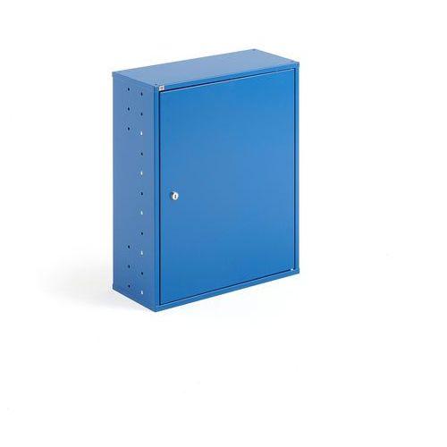 Aj produkty Szafka warsztatowa, bez pojemników, 580x470x205 mm, niebieski
