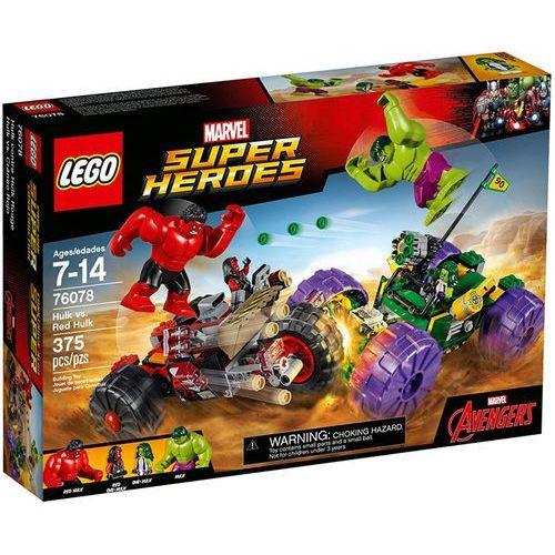 76078 HULK KONTRA CZERWONY HULK (Hulk vs. Red Hulk) - KLOCKI LEGO SUPER HEROES