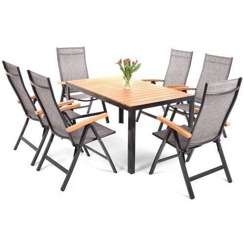 Home And Garden Meble Ogrodowe : Home garden Meble ogrodowe aluminiowe florencja black , Home Garden