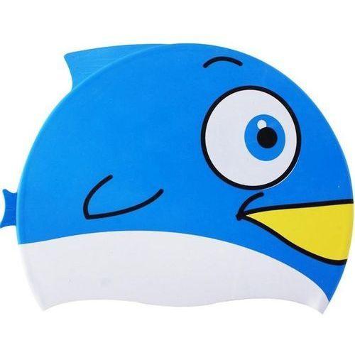 Czepek silikonowy SPURT Fish Niebieski (5907695578553)
