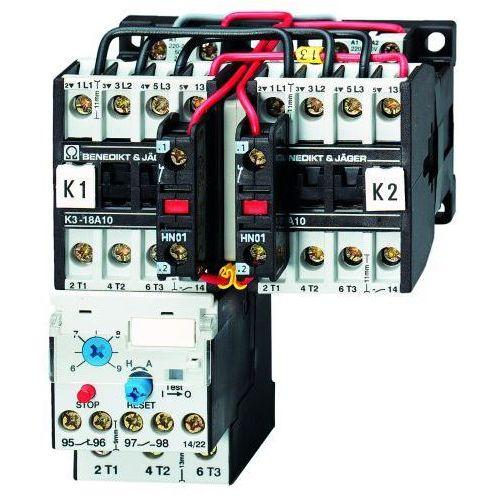 Benedict&jager K3wu18b 230 układ rewersyjny 7,5kw / 18a / 230v ac / ip54