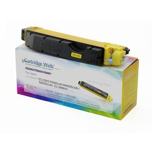 Toner CW-K5150YN Yellow do drukarek Kyocera (Zamiennik Kyocera TK-5150Y) [10k] (4714123963895)