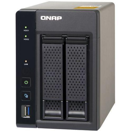 QNAP TS-253A-4G - Intel Celeron N3150 / 4 GB / 2 x HDMI / 2 x Gigabit LAN / 2-dyskowy