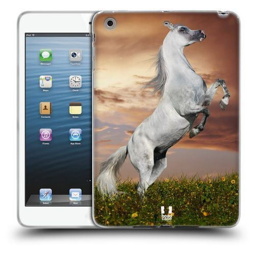 Head case Etui silikonowe na tablet - dzikie zwierzęta koń