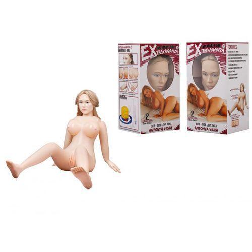 Dmuchana lalka suzie carina twarz 3d długie włosy | 100% dyskrecji | bezpieczne zakupy marki You2toys