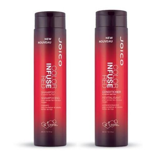 Joico Color Infuse Red Zestaw podkreślający kolor włosów rudych   szampon 300ml + odżywka 300ml