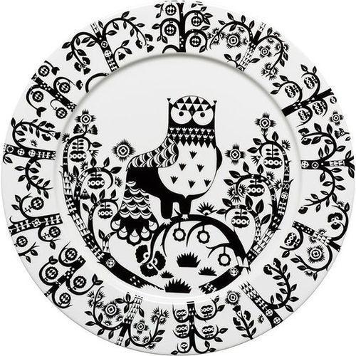 Iittala Talerz płaski 30 cm taika czarny (7320065006902)