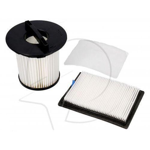 Zestaw filtrów centralny/silnika/wylotowy (3szt.) do odkurzacza Dirt Devil 2725001 (4012467250016)