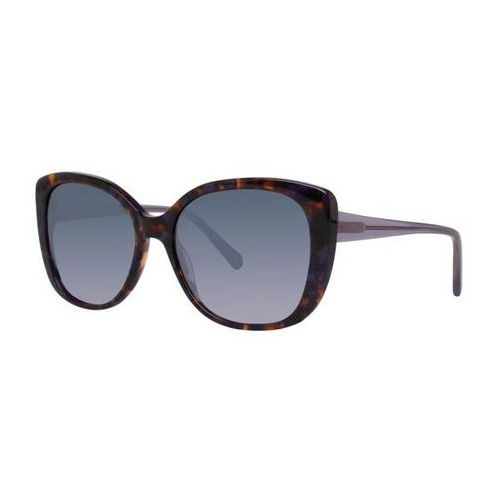 Vera wang Okulary słoneczne v452 amethyst tortoise