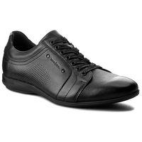 Półbuty WOJAS - 7004-51 Czarny, kolor czarny