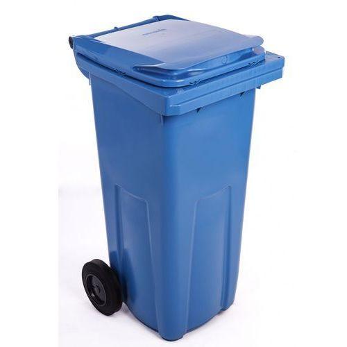J.A.D. TOOLS plastikowy kosz na odpadki 240 l niebieski