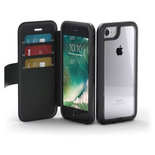 Griffin survivor adventure wallet etui portfel iphone 8 / 7 (czarny) + kieszenie na karty