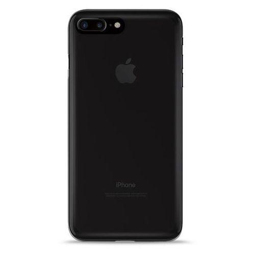 Puro  plasma cover - etui iphone 7 plus (ciemny przezroczysty)
