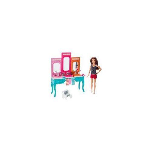 lalka siostra z mebelkami mattel (skipper) marki Barbie