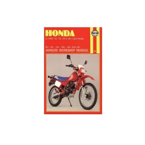 Honda XL/XR80, 100, 125, 185 and 200 2 Valve Models, 1978-87