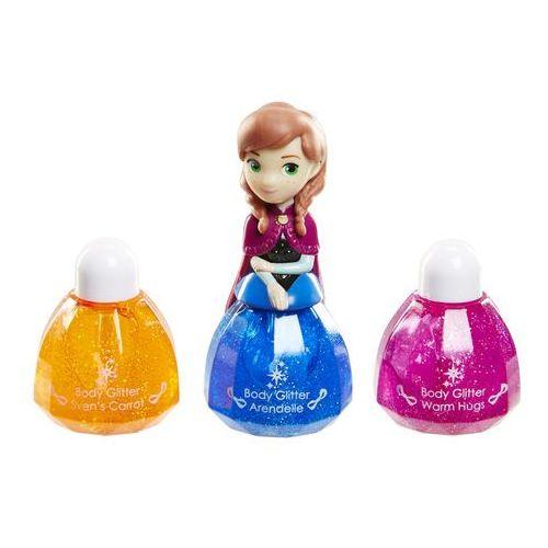 make up księżniczki frozen anna,brokat do ciała marki Disney
