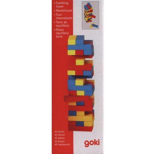 Goki Wieża jenga mała kolorowa