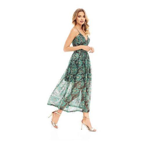 Sukienka cadenza w kolorze zielonym, Sugarfree