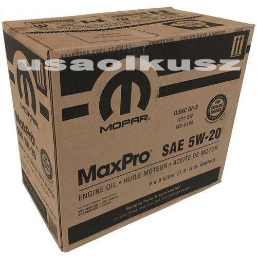Karton oleju silnikowego 5w20 gf-5 ms-6395 15l marki Mopar