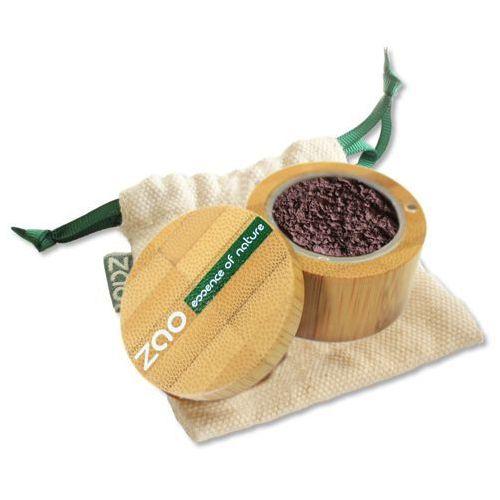 Cień do powiek sypki rozświetlający zao - 534 - opalizujący bakłażan marki Zao - make up organic