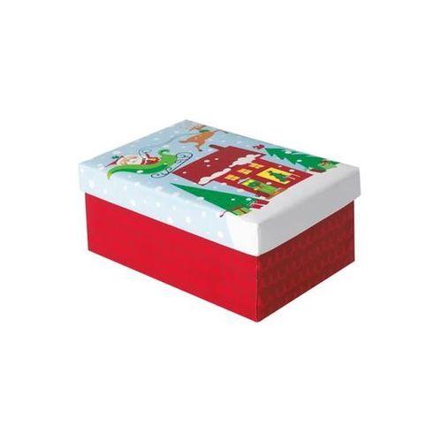Unique Pudełko prezentowe z mikołajem - 1 szt.