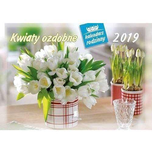 Kalendarz 2019 Rodzinny Kwiaty ozdobne WL2 (5901397026329)