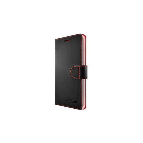 Pokrowiec na telefon FIXED FIT dla Apple iPhone 5/5S/SE (FIXFIT-002-BK) Czarne - produkt z kategorii- Futerały i pokrowce do telefonów