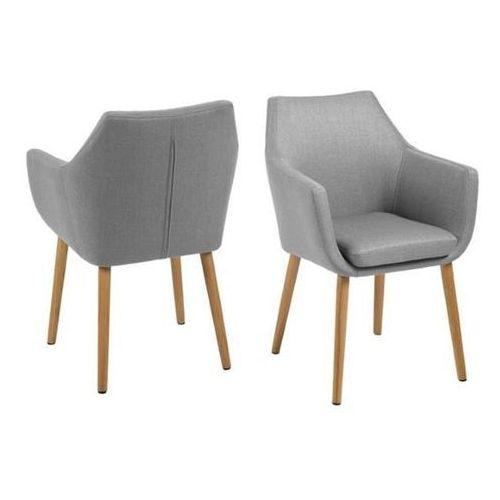 Krzesło nora light grey marki Actona