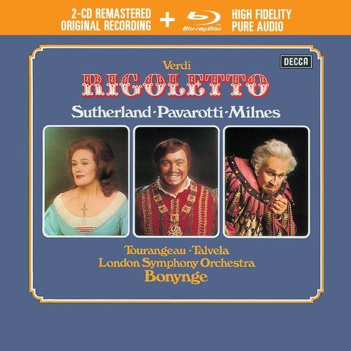 Universal music Verdi rigoletto (2cd + 1 blu-ray audio) - luciano pavarotti (płyta cd) (0028948309382)