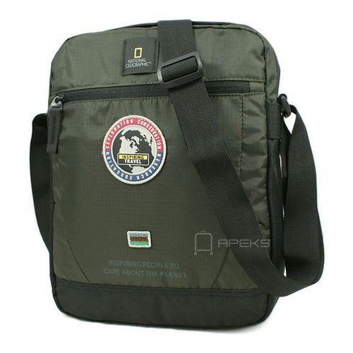 "National Geographic EXPLORER torba na ramię / laptop 13.3"" / N01104.11 - Khaki (4006268611831)"