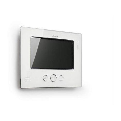 """monitor 7"""" m810w biały m810w - autoryzowany partner vidos, automatyczne rabaty. marki Vidos"""