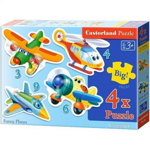CASTOR 3-9 EL. Samoloty