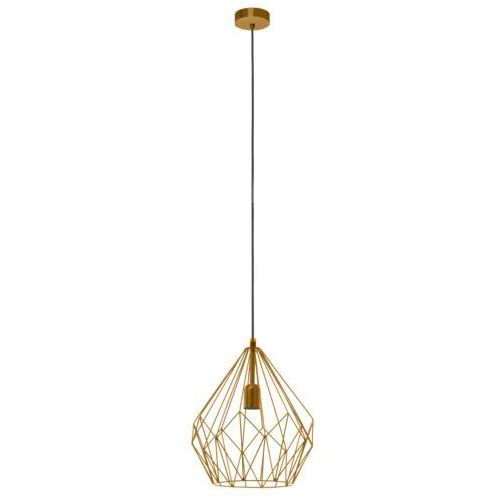 Eglo vintage Carlton 1 49934 lampa wisząca vintage loft eglo (9002759499341)
