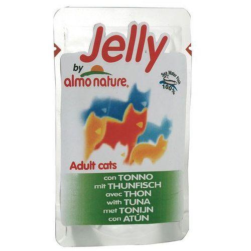Almo nature  jelly tuńczyk i sardynki saszetka 70 g - darmowa wysyłka od 99 zł (8001154008418)