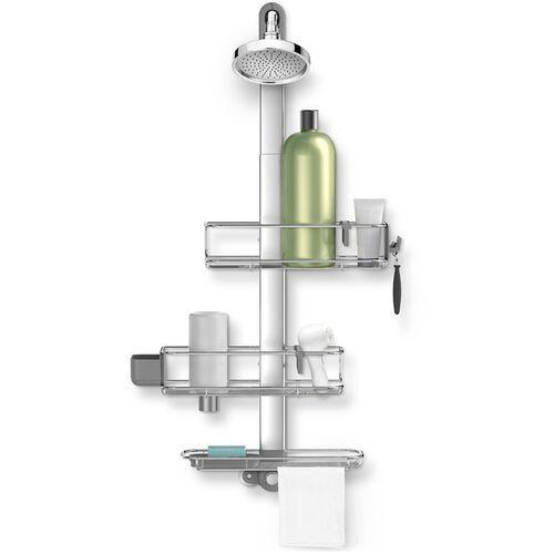 Koszyki na akcesoria pod prysznic regulowane simplehuman (bt1099) (0838810017662)