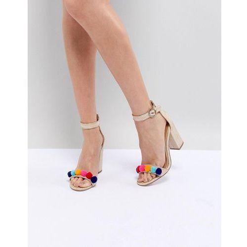 Miss kg evelyn block heeled sandals - multi