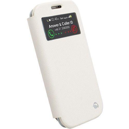 Etui KRUSELL FlipCase Malmo View do Samsung Galaxy S4 I9500 Biały z kategorii Futerały i pokrowce do telefonów