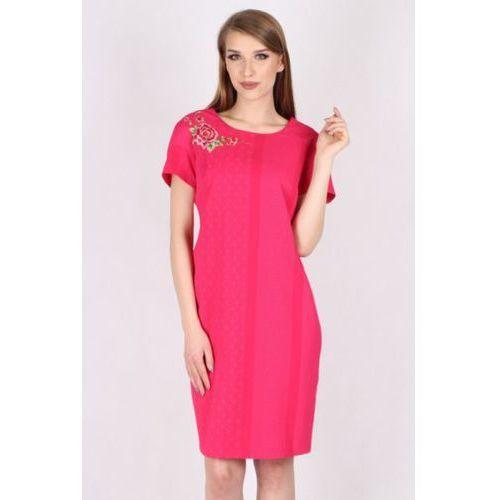 Margo collection Sukienka wizytowa model m 920 pink