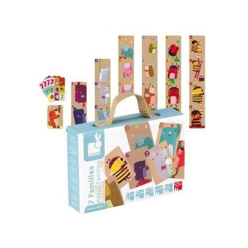 Gra karciana Rodzina zwierzątek - zabawki dla dzieci