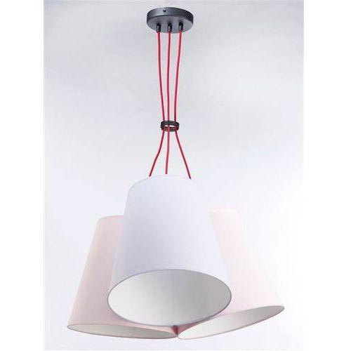 Lampa Wisząca NECAR 3 3222 - Pastelowy łosoś/Pastelowa jagoda, kolor Pastelowy