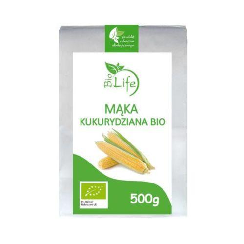 500g mąka kukurydziana bio marki Biolife