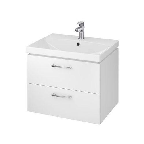 Cersanit lara set 802 zestaw: umywalka 60 city+ szafka, kolor biały s801-142-dsm