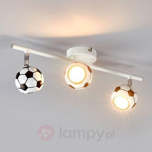 Spotlight Listwa lampa oprawa sufitowa spot light play 3x4.5w gu10 led biało/czarna 2500304